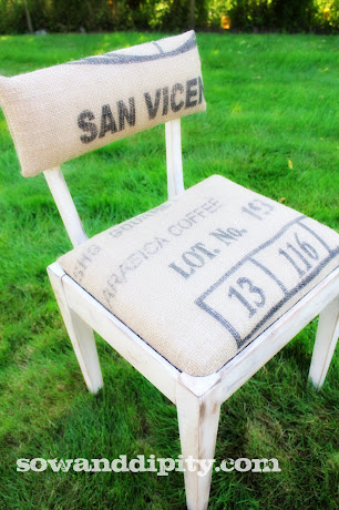 The Perfect Sewing Chair