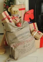 Cutest Burlap Christmas Sacks Ever!!