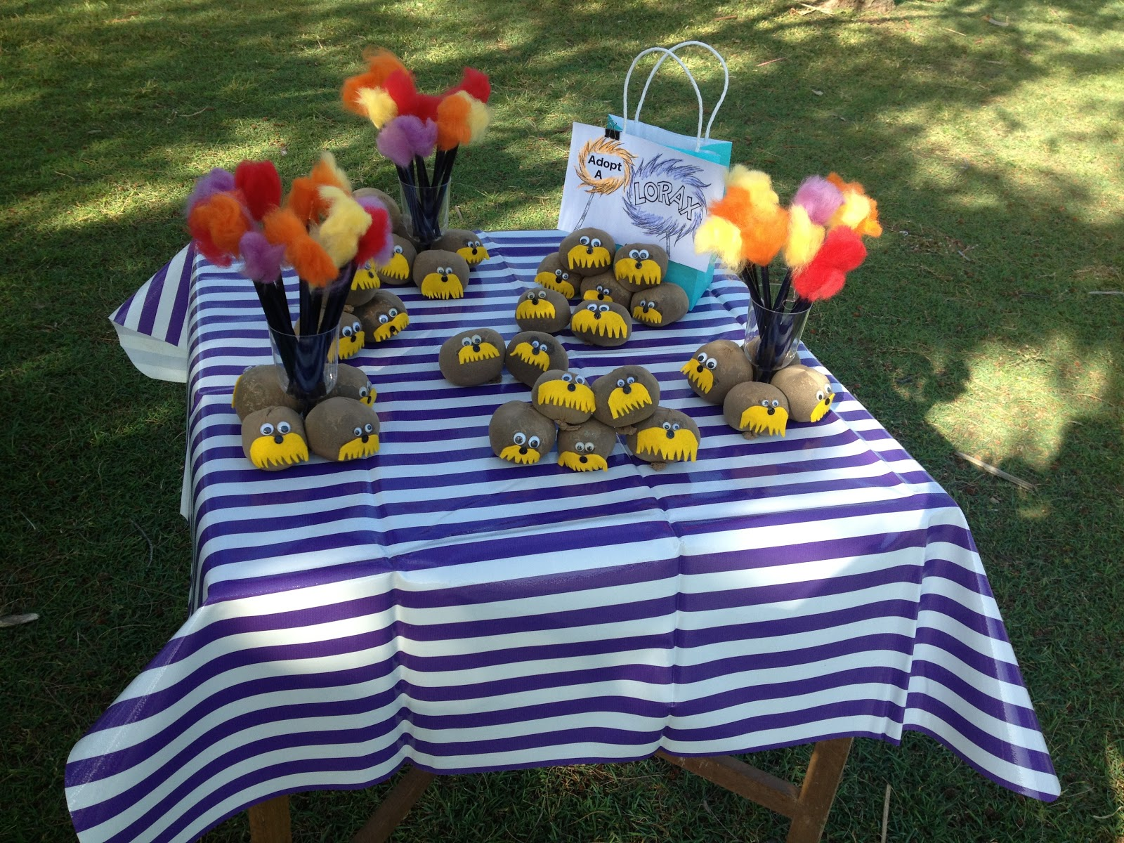 Lorax themed 5th Birthday Party – A Burlap Picnic in the ...