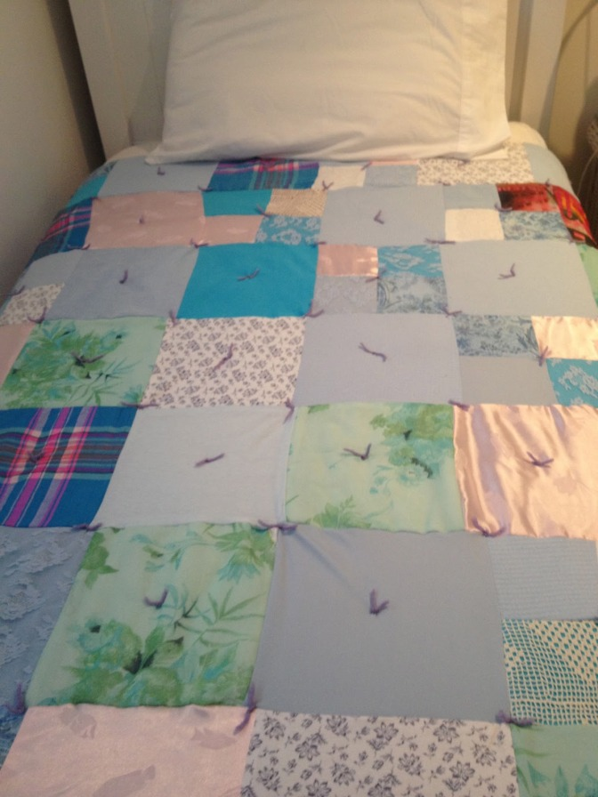 A Very Special Mothers Day Memory Quilt